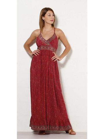 Coline Sukienka w kolorze czerwonym ze wzorem