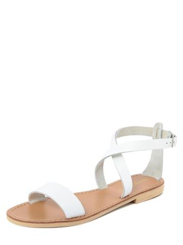 Donna Toscana Leren sandalen wit