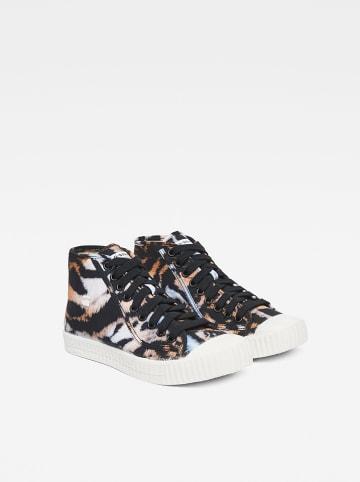 "G-Star Sneakers ""Rovulc"" zwart/lichtbruin"