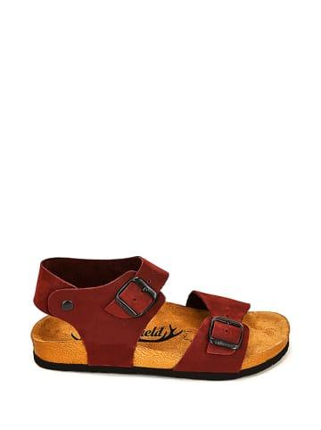 Moosefield Leren sandalen bordeaux