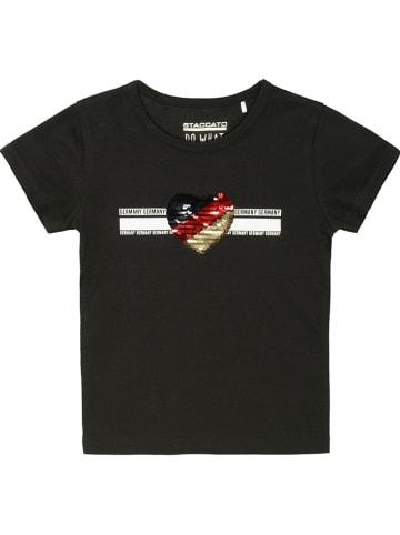 ATTENTION Shirt in Schwarz