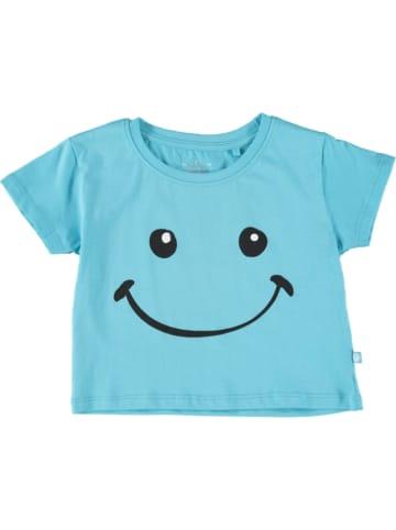 Lemon Beret Shirt lichtblauw