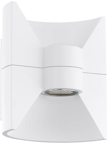 "EGLO Ledbuitenlamp ""Redondo"" wit - (B)16 x (H)17,5 cm"