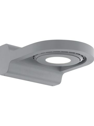 "EGLO Zewnętrzna lampa LED ""Roales"" w kolorze srebrnym - 14 x 6 cm"