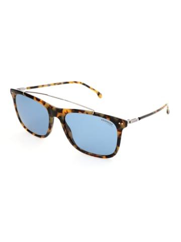 Carrera Męskie okulary przeciwsłoneczne w kolorze brązowo-błękitnym