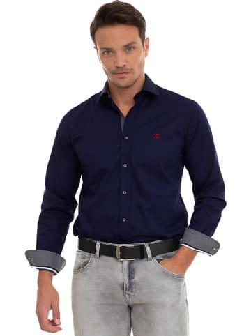 "SIR RAYMOND TAILOR Koszula ""Denali"" - Regular fit - w kolorze granatowym"