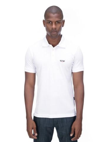 Galvanni Koszulka polo w kolorze białym