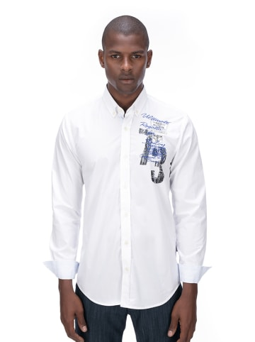 Galvanni Koszula w kolorze białym
