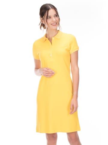Galvanni Galvanni Knielange Kleider (Midi)  in gelb
