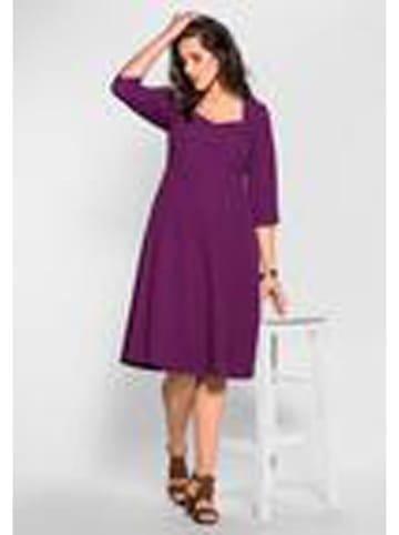 Sheego Sukienka w kolorze fioletowym