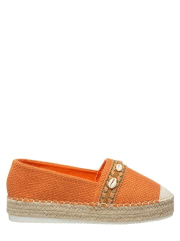 STEPHAN Espadrilles in Orange