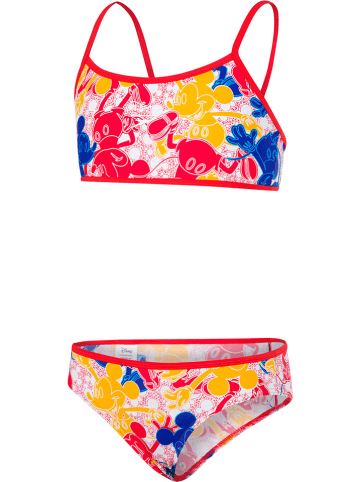 Speedo Bikini rood/blauw/geel