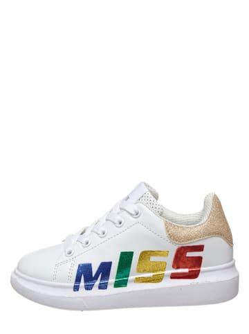 Miss Sixty Sneakersy w kolorze białym