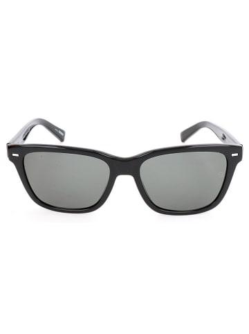Ermenegildo Zegna Męskie okulary przeciwsłoneczne w kolorze czarno-szarym
