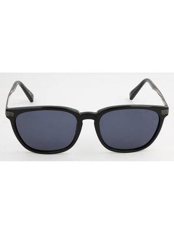 Ermenegildo Zegna Herenzonnebril zwart/blauw