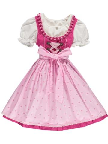 "LEKRA Dirndl ""Franzi"" in Pink/ Rosa"