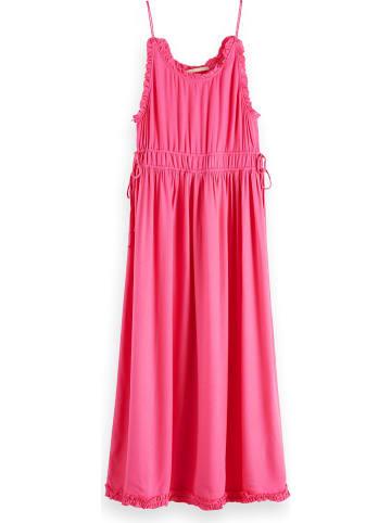 Scotch & Soda Sukienka w kolorze różowym