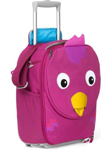 """Affenzahn Kinderkoffer """"Vogel"""" in Pink - (B)30 x (H)40 x (T)16,5 cm"""