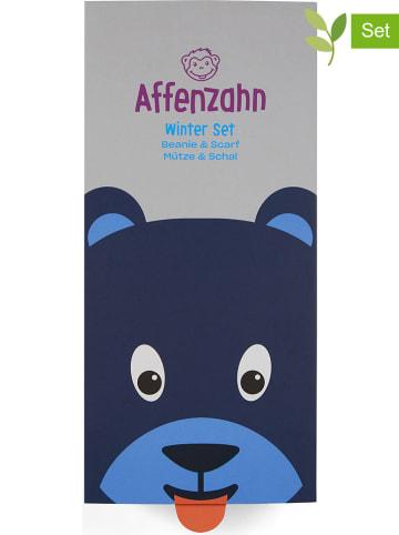 """Affenzahn 2-częściowy zestaw  """"Bear"""" w kolorze granatowym"""