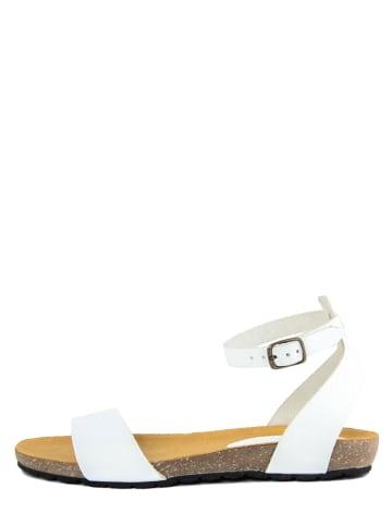 PIEMME SHOES Leren sandalen wit