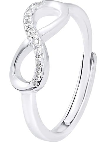 """Wishlist Zilveren ring """"Infini"""" met edelstenen"""