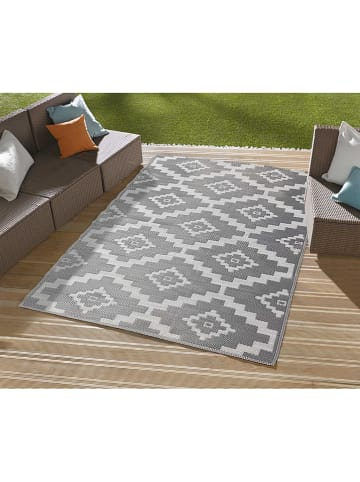 """Nazar Indoor-/outdoor-tapijt """"Scoobi"""" grijs/wit"""