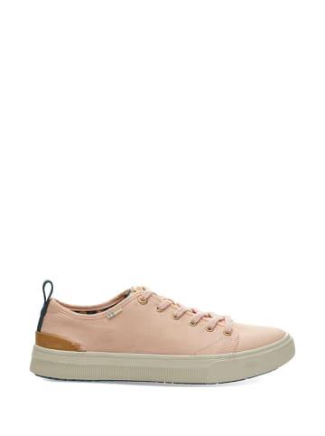 """TOMS Sneakersy """"Trvl Lite"""" w kolorze jasnoróżowym"""