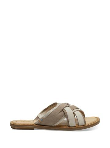 TOMS Slippers grijs/beige