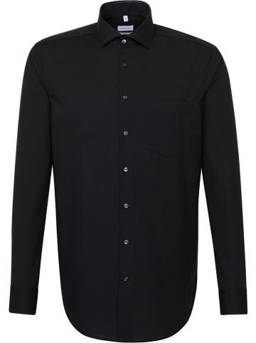 Seidensticker Koszula - Regular fit - w kolorze czarnym
