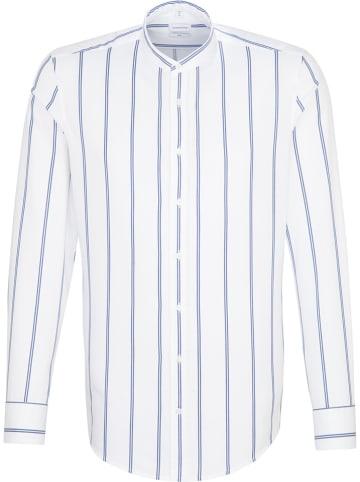 Seidensticker Koszula - Slim fit - w kolorze biało-niebieskim