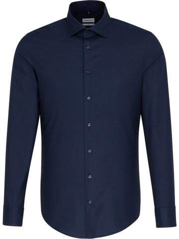 Seidensticker Koszula - Slim fit - w kolorze granatowym