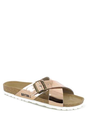 "BAYTON Slippers ""Era"" roségoudkleurig"