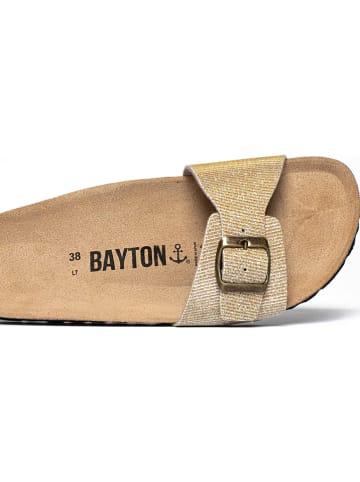 "BAYTON Pantoletten ""Azuqueca"" in Gold"