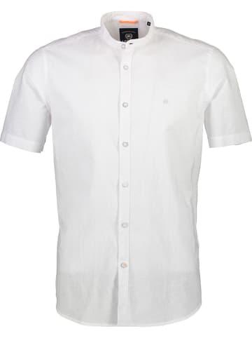Lerros Koszula - Regular fit - w kolorze białym
