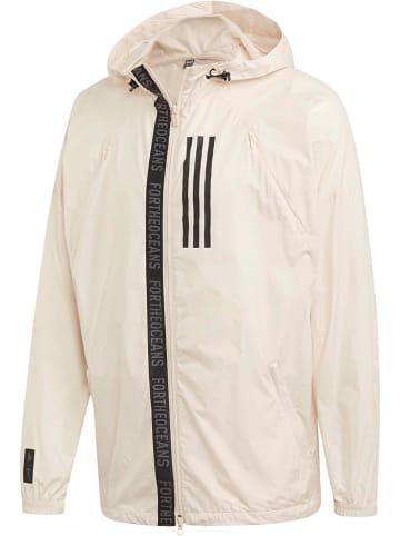 """Adidas Windbreaker """"Parley"""" beige"""