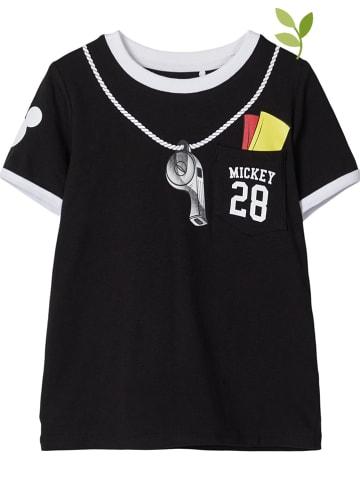 """Name it Shirt """"Mickey"""" in Schwarz"""