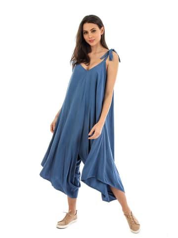 Fille de Coton Kombinezon w kolorze niebieskim