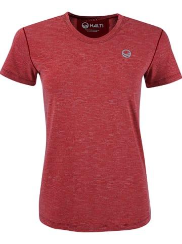 """Halti Koszulka """"Elina"""" w kolorze czerwonym"""