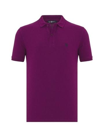 JIMMY SANDERS Koszulka polo w kolorze fioletowym