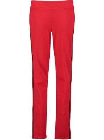 Garcia Spodnie w kolorze czerwonym