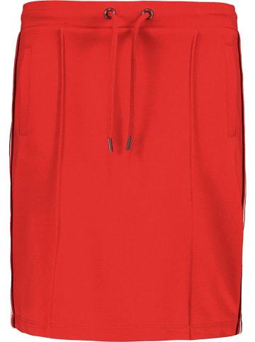 Garcia Spódnica dresowa w kolorze czerwonym