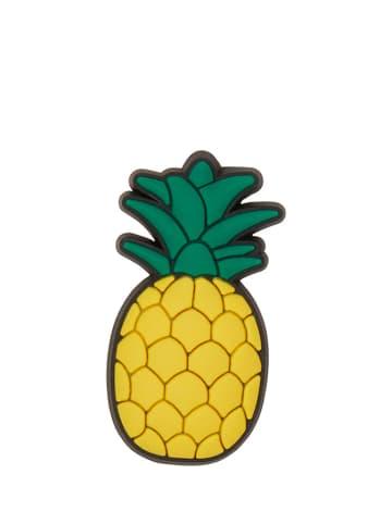 """Crocs Schoensieraad """"Ananas"""" geel/groen"""