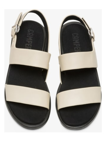 "Camper Leren sandalen ""Edy"" beige"
