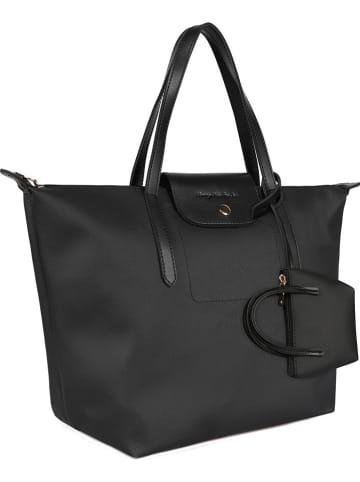 Beverly Hills Polo Club Shopper bag w kolorze czarnym - 35 x 30 x 22 cm