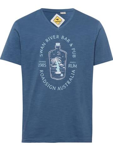 Roadsign Koszulka w kolorze niebieskim
