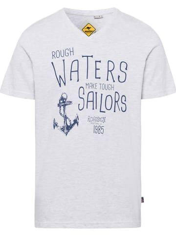 Roadsign Koszulka w kolorze jasnoszarym