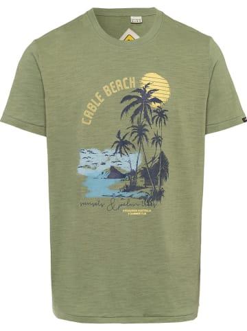 Roadsign Koszulka w kolorze khaki