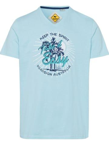 Roadsign Koszulka w kolorze błękitnym