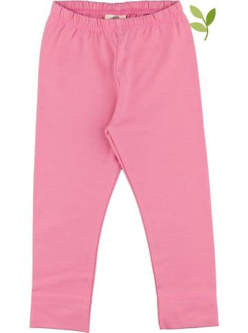 Walkiddy Legginsy w kolorze różowym