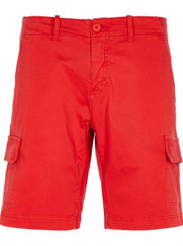 """U.S. Polo Bojówki """"Elfred"""" w kolorze czerwonym"""